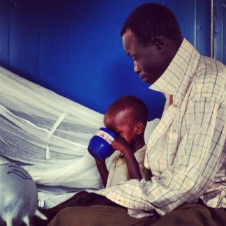 19 the fathers so kind, watch his son finished all the meals all the time