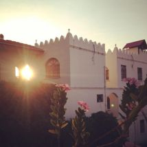 21 last sunset of sha'ban, marked the beginning of ramadhan_ rooftop view of stone town was picturesque