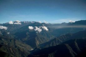 20 Mimika from 14000 feet above the sea leve_ Aerial Trip