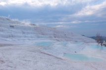 Pamukkale and the infamous travertines