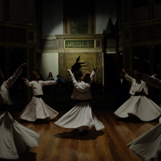 The Whirling Dervish [I later able to see the Semâ at Istanbul]
