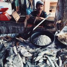 Lhokseumawe wet market