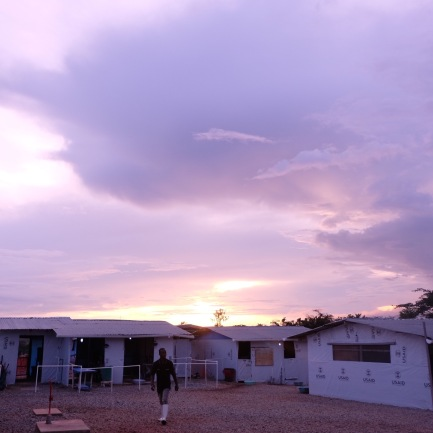 The Ebola Treatment Unit at Bong County